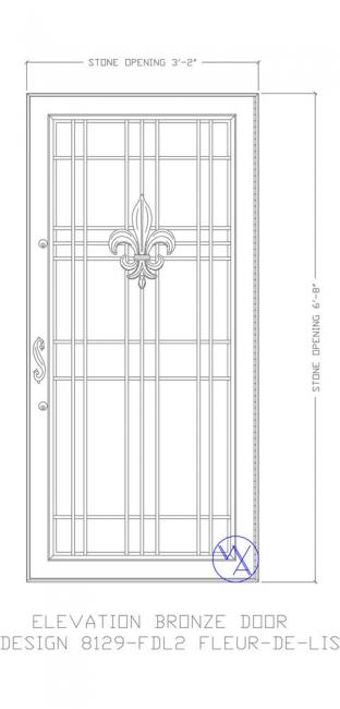DOOR-Single-8129-FLD2-Var