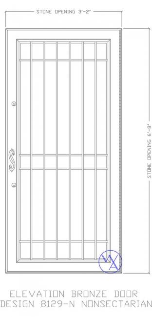 DOOR-Single-8129-N-NonSectarian-Var