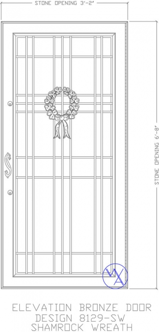 DOOR-Single-8129-SW-Shamrock-Var