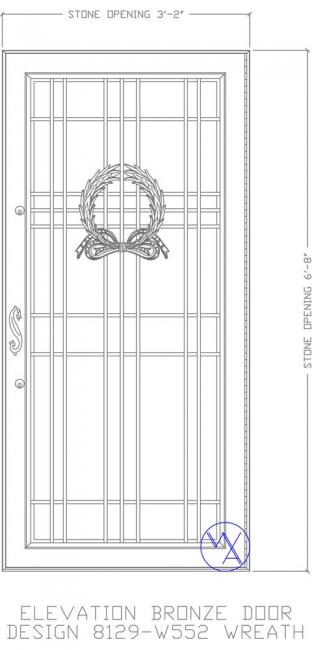 DOOR-Single-8129-W552-Wreath-Var
